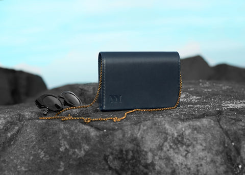 Infinite Night Blue Small Clutch