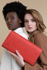 Infinite Scarlett Red Large Clutch