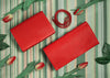 Infinite Scarlett Red Small Clutch