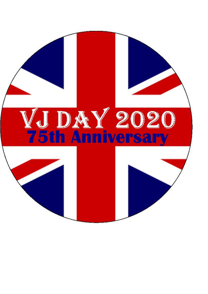 VJ Day 75th Anniversary 2020 (SATURDAY 15TH AUGUST 2020)
