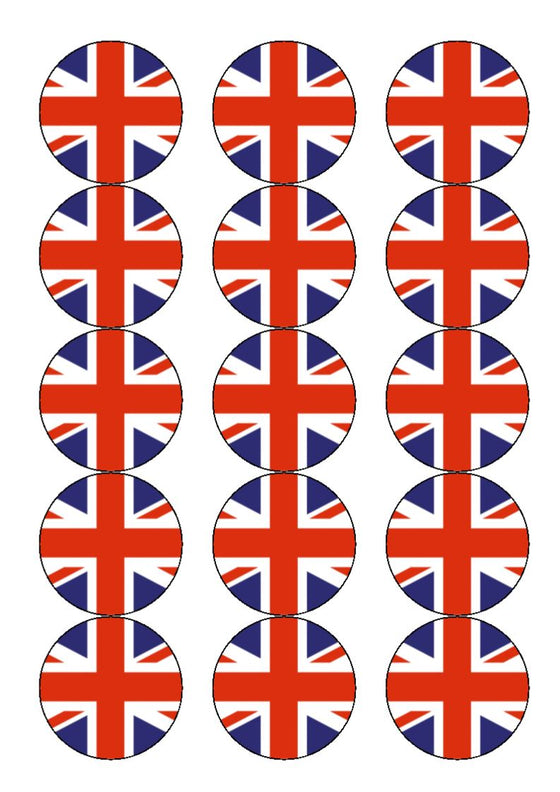 Great Britain Edible Cake & Cupcake Toppers