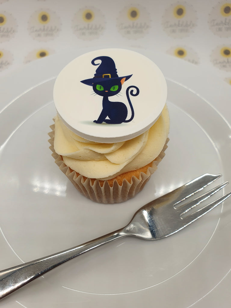Fancy cat edible cake/cupcake toppers