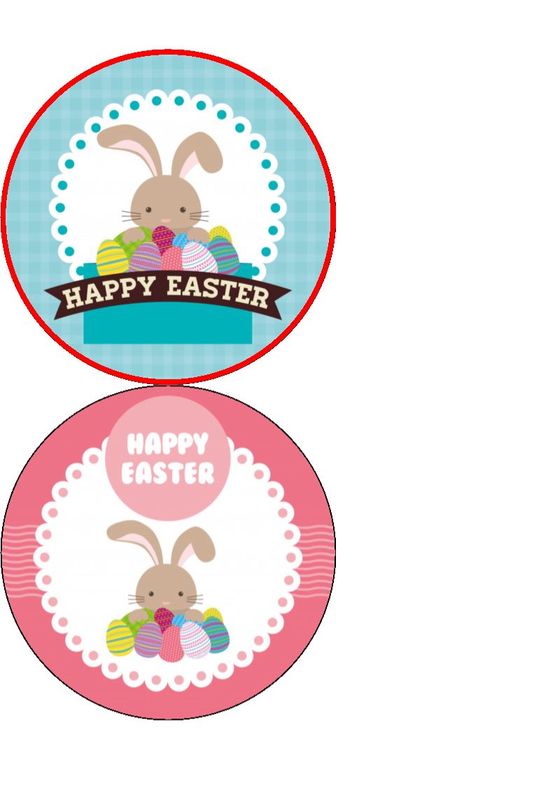 Easter Bunny Cake/Cupcake Toppers - Incredible Cake Toppers