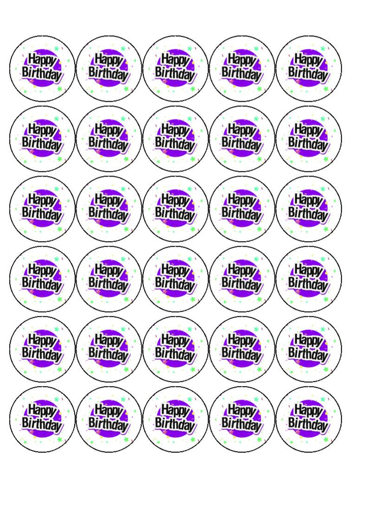 Harley Davidson Edible Cake & Cupcake Toppers (Click to see other images)