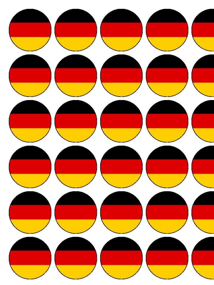 Germany Edible Cake & Cupcake Toppers