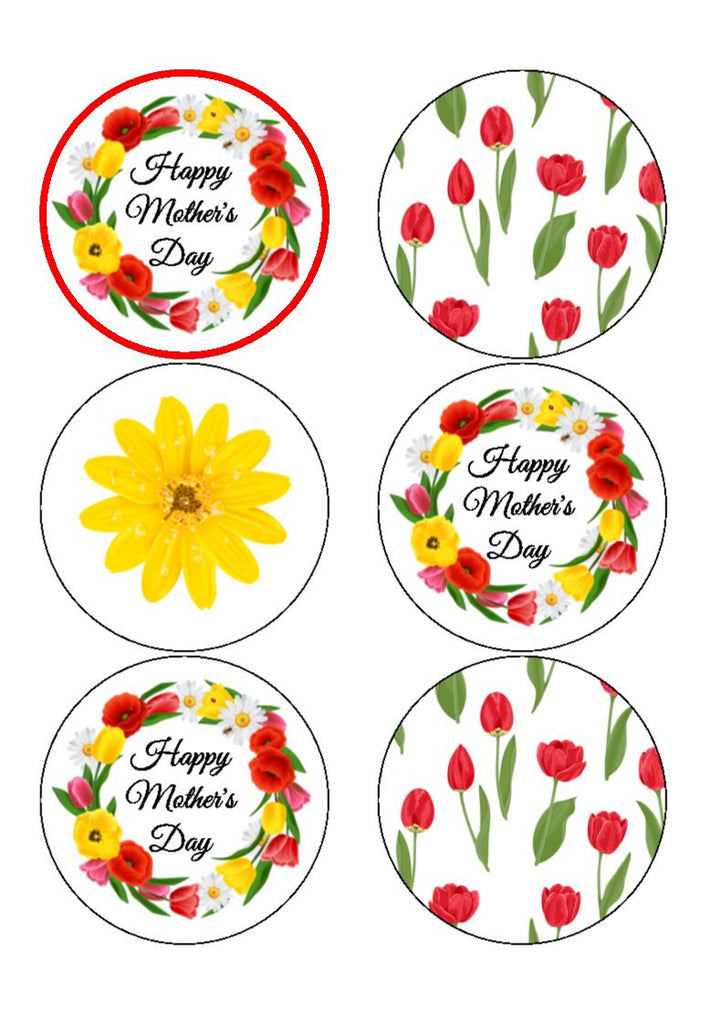 NEW!! Mother's Day - Bright Flowers