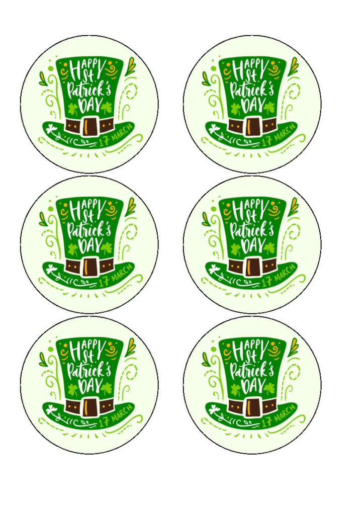Drink/Cocktail Toppers - St Patricks' Day - Great on Guinness!