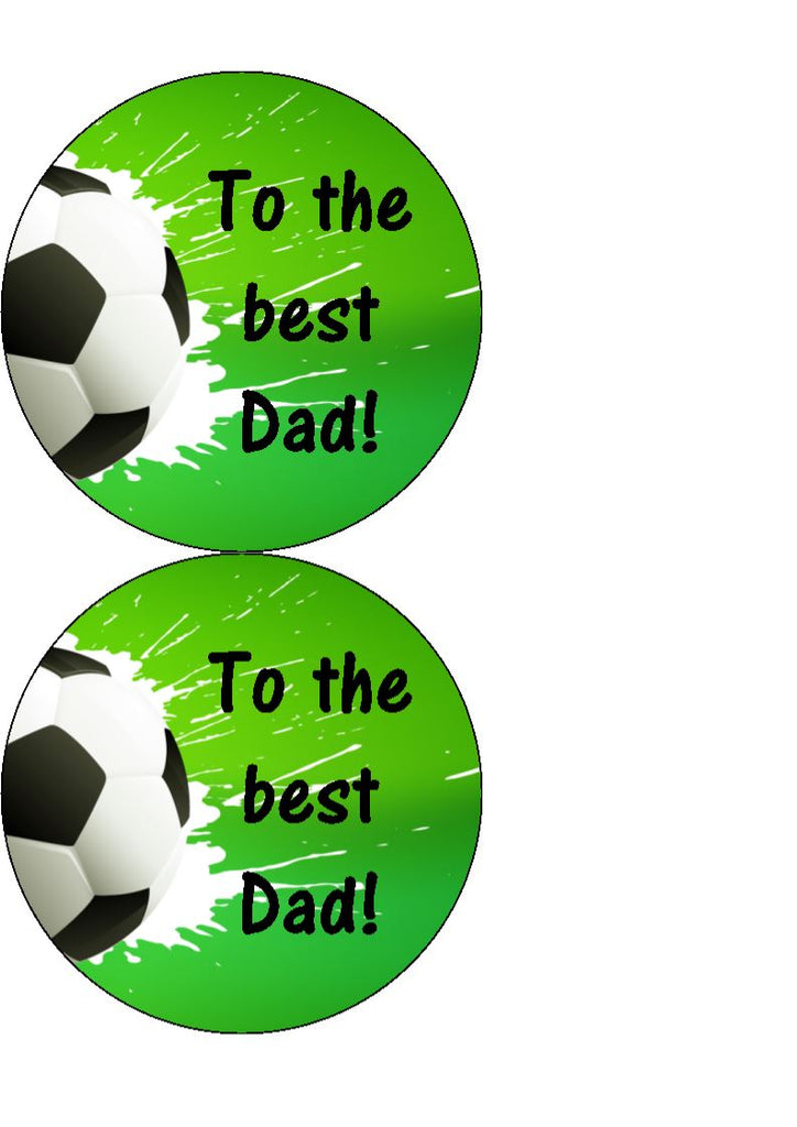 Father's Day - Design 12 - edible cake/cupcake toppers