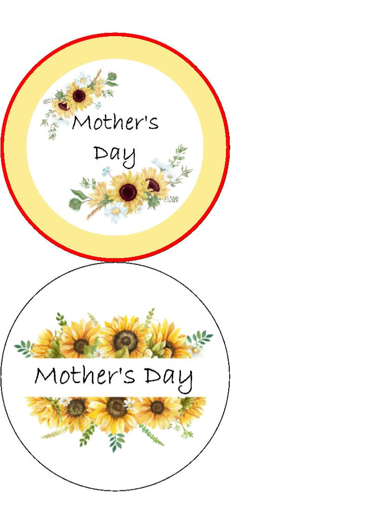 NEW!! Mother's Day - Sunflowers - wording can be amended/personalised