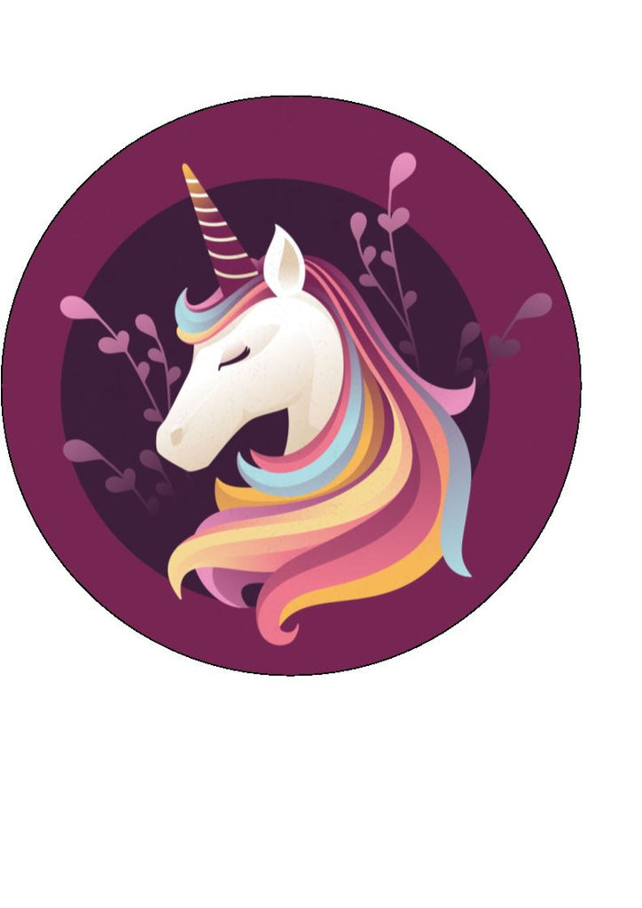 Unicorns - Design 2 - Edible Cake/Cupcake Toppers