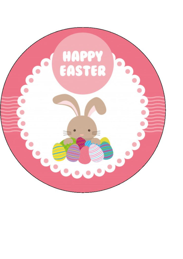 Easter Bunny Cake/Cupcake Toppers