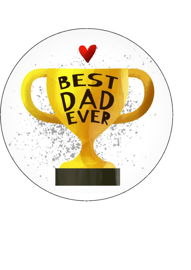 Father's Day - Design 14 - edible cake/cupcake toppers