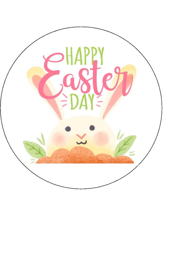 Happy Easter Day Cake/Cupcake Toppers