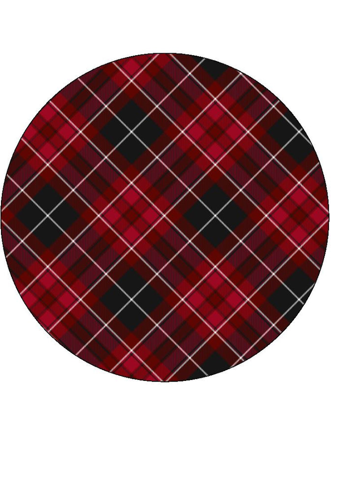 Tartan - Pride of Wales - edible prints/cake/cupcake toppers