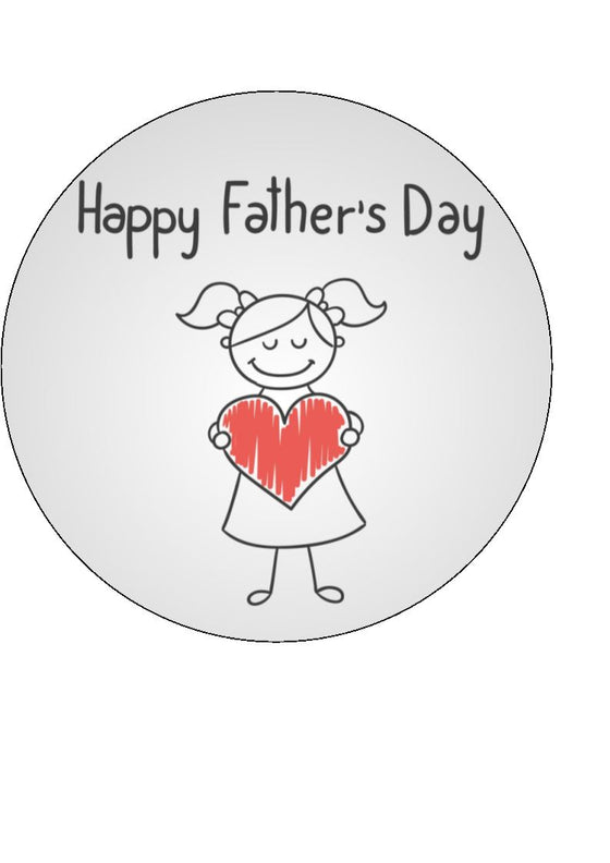 Father's Day - Design 18 - edible cake/cupcake toppers