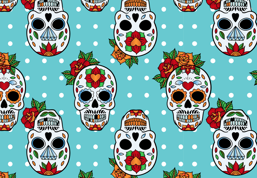 Day of the dead edible cake/cupcake toppers