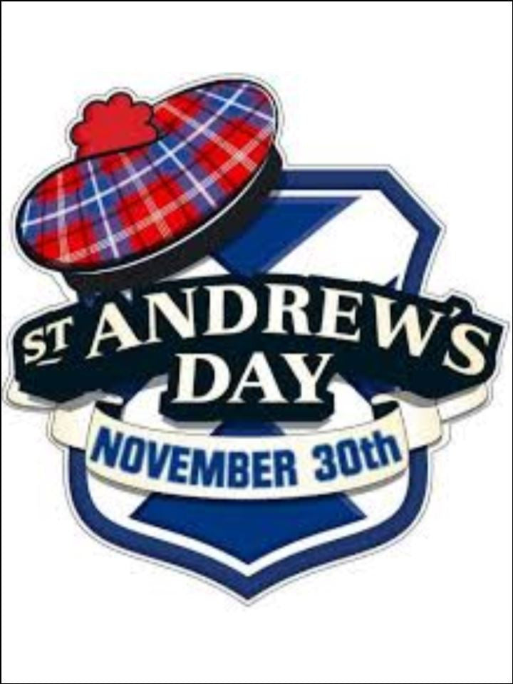 St Andrew's Day Hat Edible Cake & Cupcake Toppers