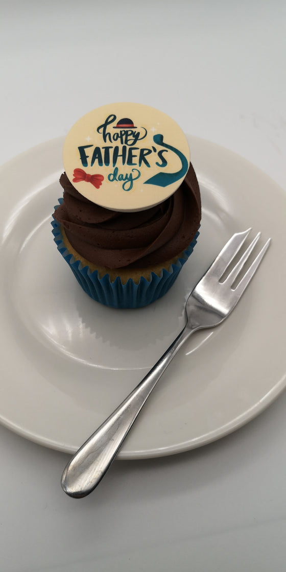 Father's Day - Design 6 - edible cake/cupcake toppers