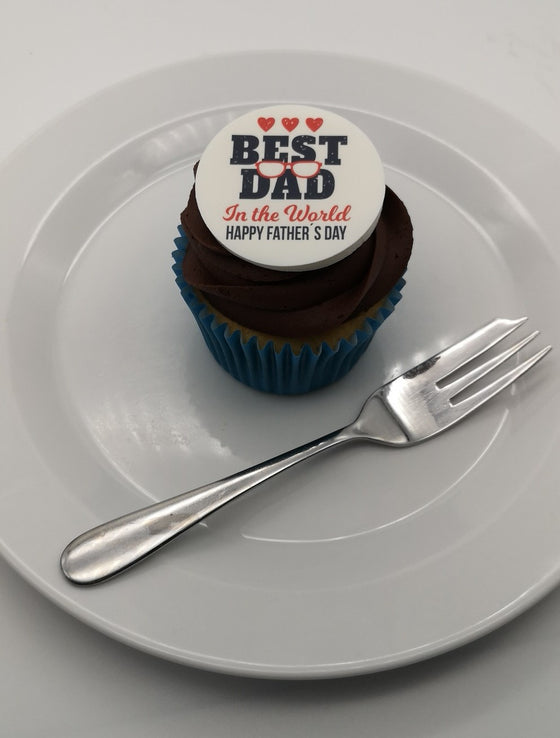 Father's Day - Design 9 - edible cake/cupcake toppers