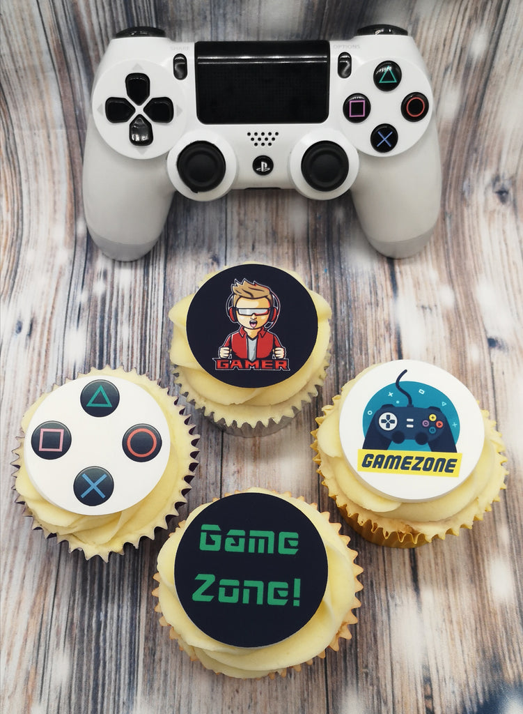 Gaming - edible cake/cupcake toppers