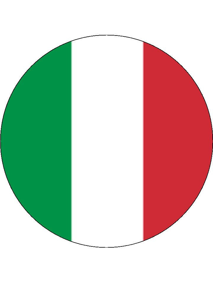 Italy Edible Cake & Cupcake Toppers