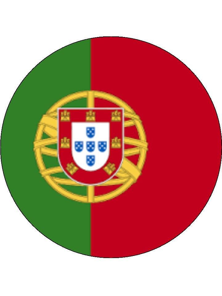 Portugal Edible Cake & Cupcake Toppers