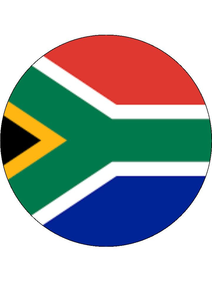South Africa Edible Cake & Cupcake Toppers