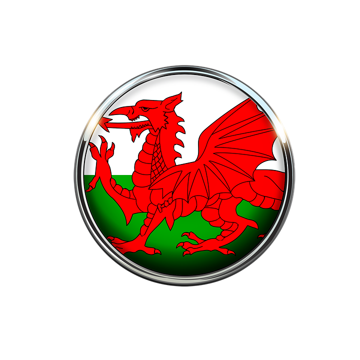 Wales Option 2 Edible Cake & Cupcake Toppers