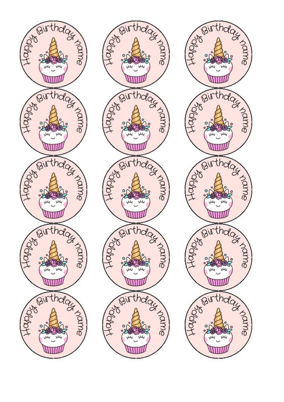 Danger Mouse - edible cake/cupcake toppers