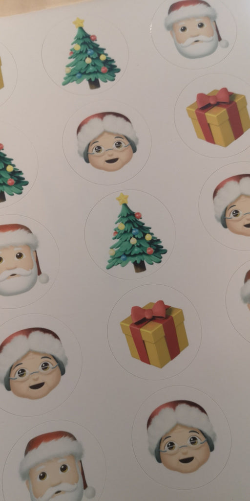 Christmas Mix 2 - cupcake toppers