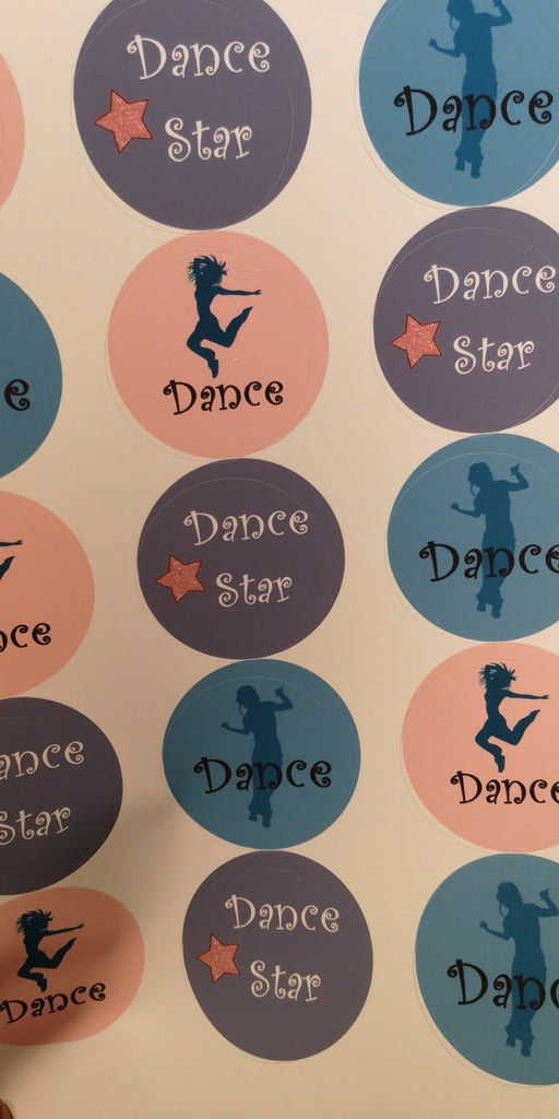 Dance Hip Hop Edible Cake & Cupcake Toppers