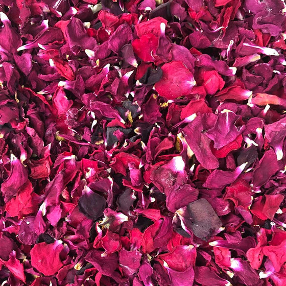 NEW!! Edible Flowers - Dried Red Roses