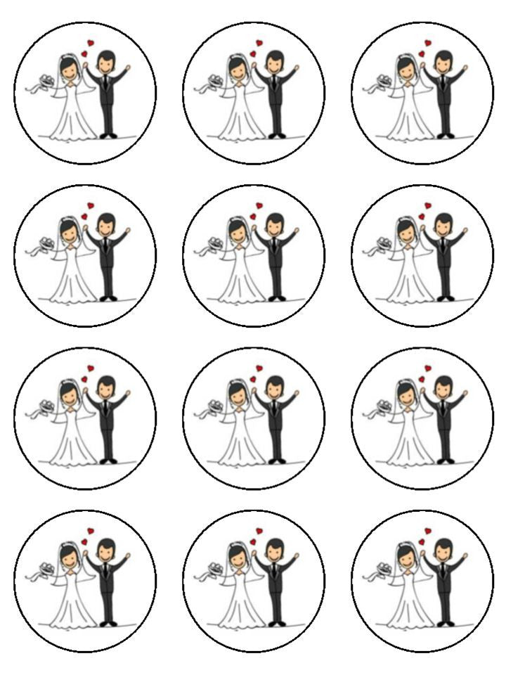 This is an image of Selective Printable Edible Cake Toppers