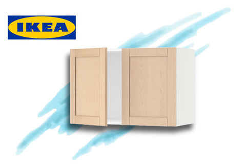 "IKEA kitchen 30"" wall cabinet in the Amsterdam 34"