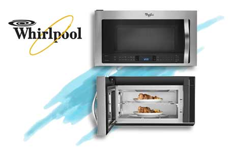 Whirlpool over range steam microwave/convection cooking
