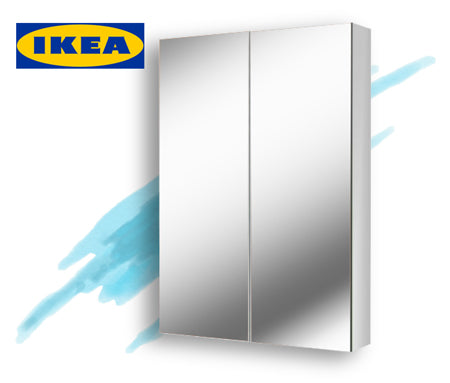 IKEA mirror cabinet Amsterdam 24 Transcend Tiny Homes