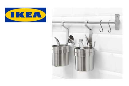 Ikea Kitchen Tool Rail And Accessories Transcend Tiny Homes