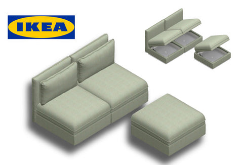 IKEA Vallentuna storage seating units in the Amsterdam 34