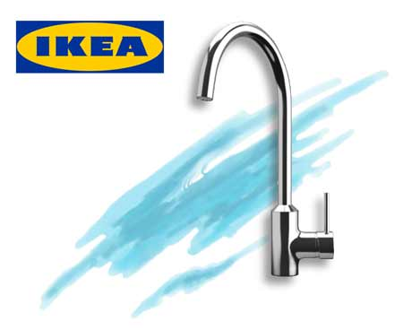 IKEA kitchen faucet in Amsterdam 24 Transcend Tiny Homes