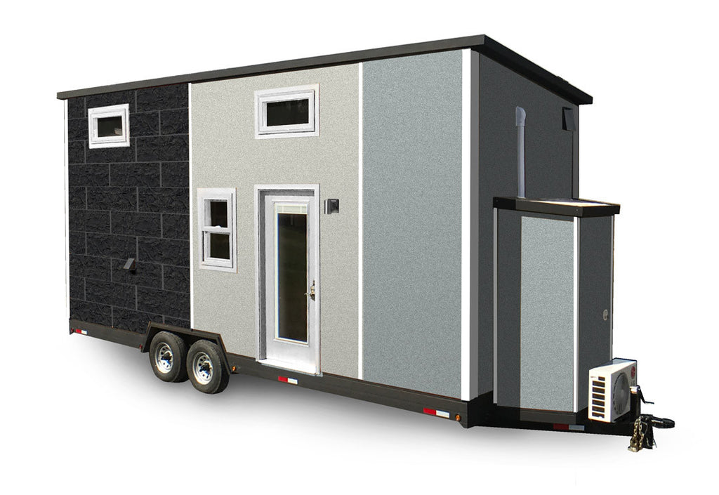 Manhattan 24ft Loft Tiny House 292 sq. ft. total