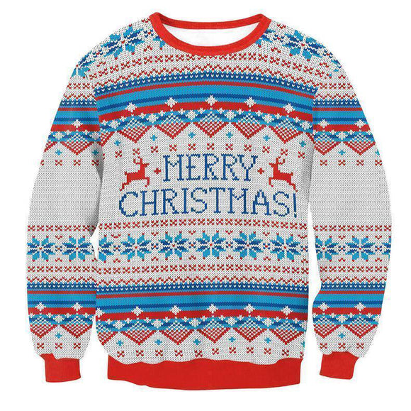 Happy Holidays Merry Christmas Sweater (Women/Men)