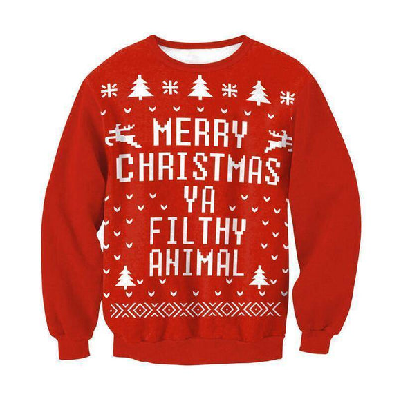 #4 Happy Holidays Merry Christmas Sweater (Women/Men)