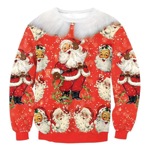 #5 Happy Holidays Merry Christmas Sweater (Women/Men)