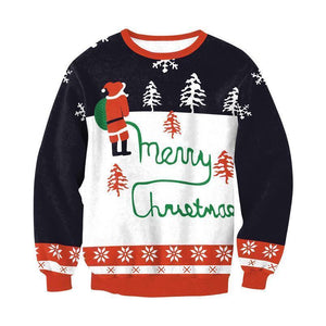 #6 Happy Holidays Merry Christmas Sweater (Women/Men)
