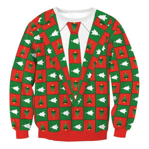 #7 Happy Holidays Merry Christmas Sweater (Women/Men)