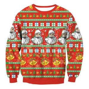 #8 Happy Holidays Merry Christmas Sweater (Women/Men)
