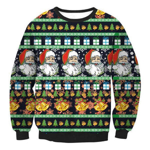 #9 Happy Holidays Merry Christmas Sweater (Women/Men)