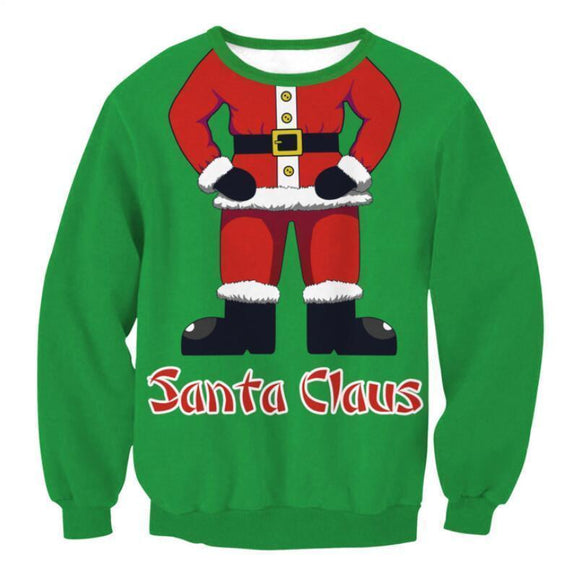 #10 Happy Holidays Merry Christmas Sweater (Women/Men)