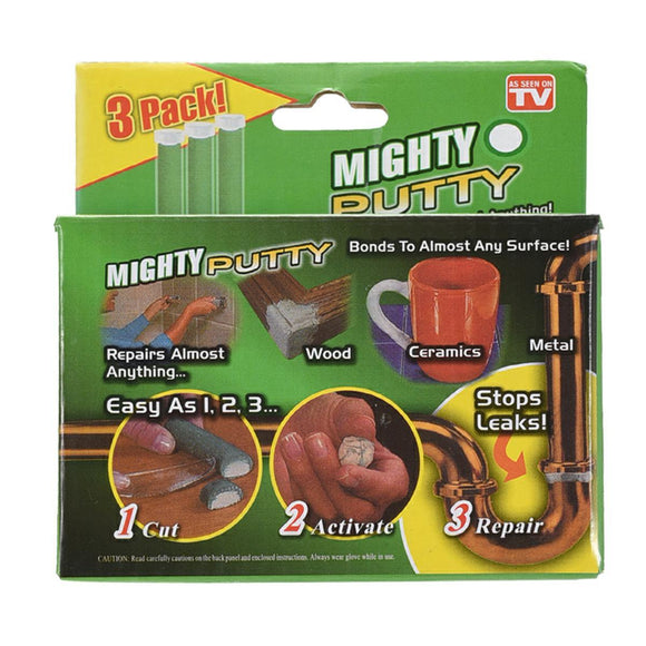Mighty Putty Super Epoxy (Pack of 3)
