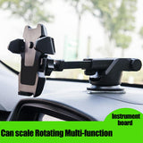 Auto-Lock Windshield Phone Holder